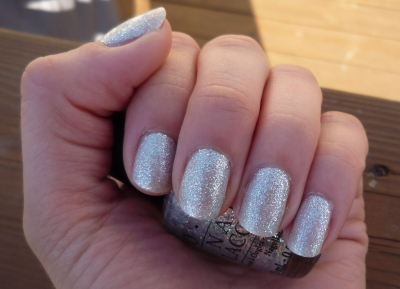 Glitter-ally the best silver ever - OPI