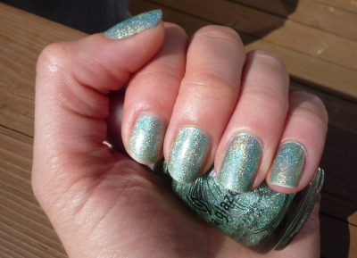 He's going in circles - China Glaze