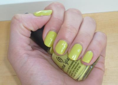 Electric pinapple - China glaze