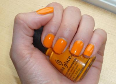 Papaya punch - China Glaze