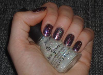Vino + Snow globe - China Glaze